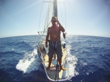 Matty Nicklin (UK), Pacific, Apr 2010 to Sep 2010 and Indian Ocean, Sep 2012 to Dec 2012