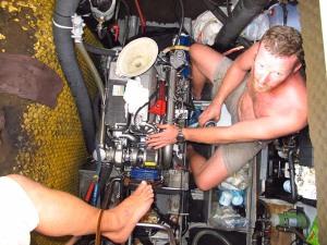Engine flooding