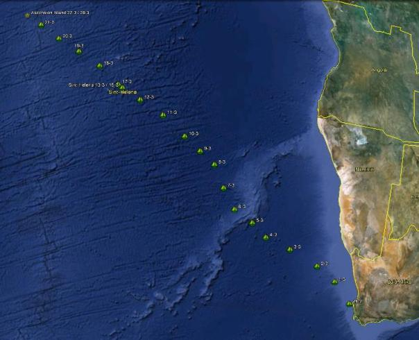 0322 Cape Town to Ascencion Island