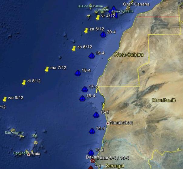 0420 Dakar to Gran Canaria